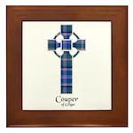 Cross - Couper of Gogar Framed Tile