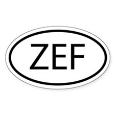 ZEF Decal