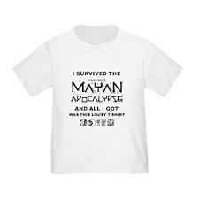 I Survived Mayan Apocalypse T