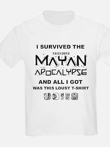 I Survived Mayan Apocalypse T-Shirt