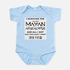 I Survived Mayan Apocalypse Infant Bodysuit