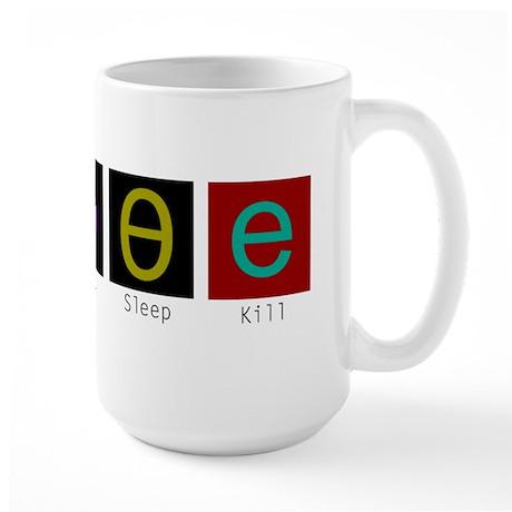 Eat, Sleep, Kill Elves (Alternate) Mugs
