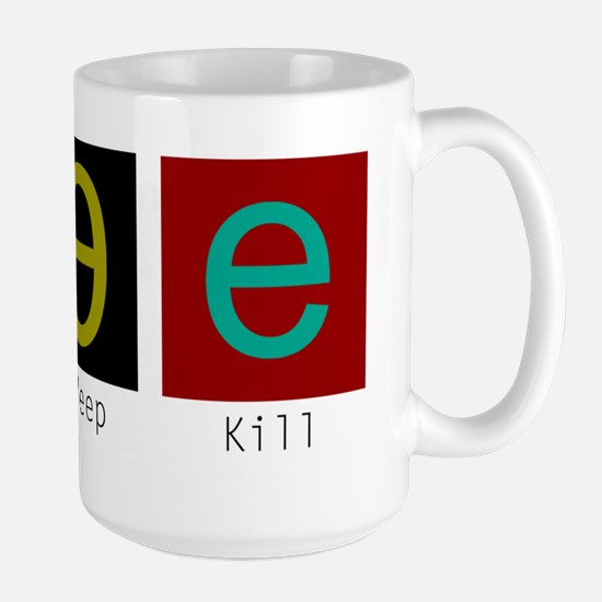 Eat, Sleep, Kill Elves (Alternate) Mugs