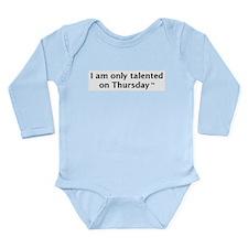 Cute Willow Long Sleeve Infant Bodysuit