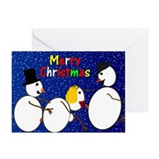 Snowman porn christmas cards (Pk of 10)