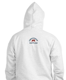 Chincoteague Island MD - Ponies Design. Hoodie