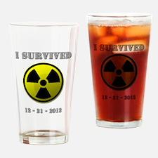 End of the world / apocalypse survivor Drinking Gl