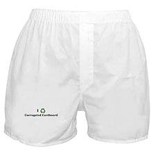 I recycle Corrugated Cardboar Boxer Shorts