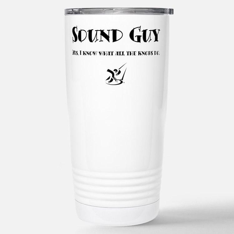 Cute Sound tech Travel Mug
