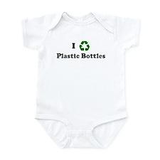 I recycle Plastic Bottles Infant Bodysuit