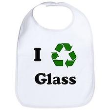 I recycle Glass Bib