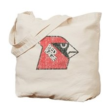 Red Rage Faded Tote Bag