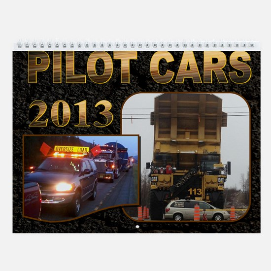 Pilot Cars Wall Calendar