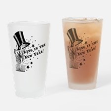 Vintage Showgirl New Year Drinking Glass