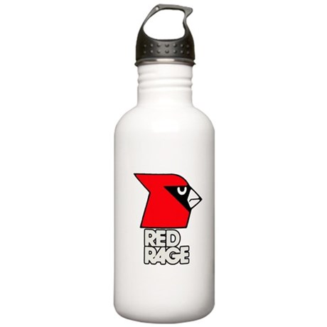 Red Rage Stainless Water Bottle 1.0L