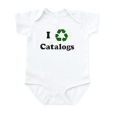 I recycle Catalogs Infant Bodysuit