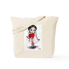 Malicious Valentine Girl Tote Bag
