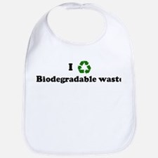 I recycle Biodegradable waste Bib