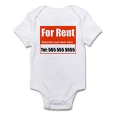 For Rent Infant Bodysuit