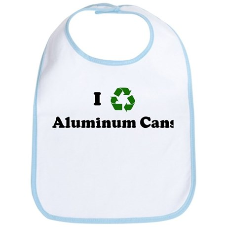 I recycle Aluminum Cans Bib