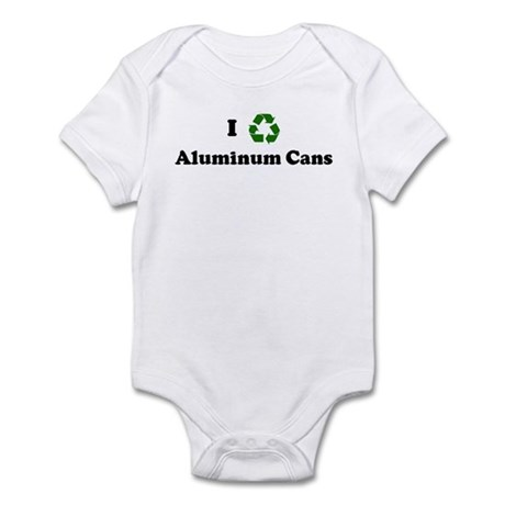 I recycle Aluminum Cans Infant Bodysuit