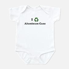 I recycle Aluminum Cans Infant Bodysuit