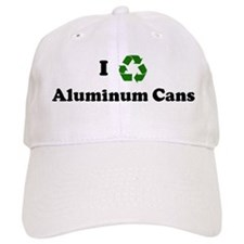 I recycle Aluminum Cans Baseball Cap