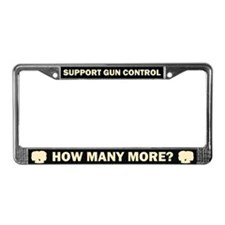 How Many More License Plate Frame