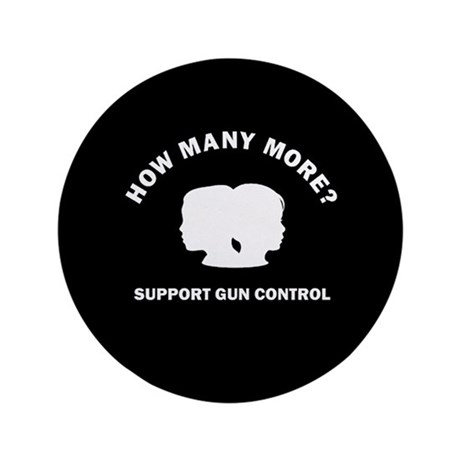 "How Many More 3.5"" Button (100 pack)"