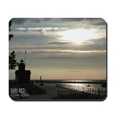 """Big Red"" Sunset Mousepad"
