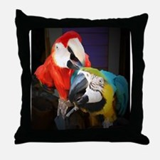 Unique Macaw Throw Pillow
