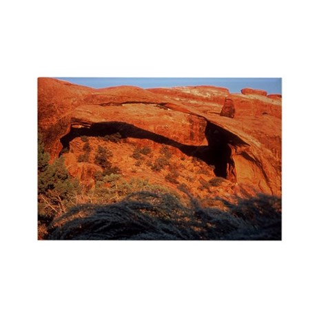 Landscape Arch - Rectangle Magnet (10 pack)