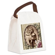 Mother and Child Canvas Lunch Bag