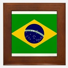 Brazil Framed Tile