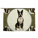 Boston Terrier Collage Makeup Pouch