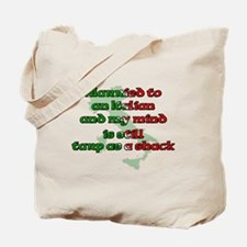 Married to an Italian Tote Bag
