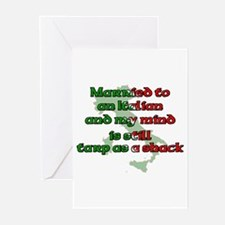 Married to an Italian Greeting Cards (Pk of 10