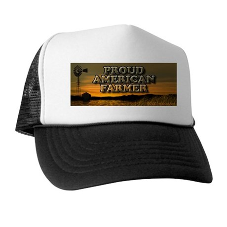 'Proud American Farmer' Trucker Hat