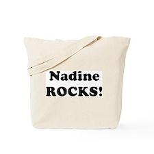 Nadine Rocks! Tote Bag