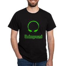 Improved Alien Head Music Underground T-Shirt
