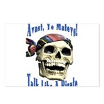 Talk Like A Pirate Day Postcards (Package of 8)