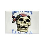 Talk Like A Pirate Day Rectangle Magnet