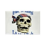 Talk Like A Pirate Day Rectangle Magnet (100 pack)