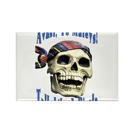 Talk Like A Pirate Day Rectangle Magnet (10 pack)