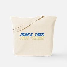 Make Trek Not Wars Tote Bag
