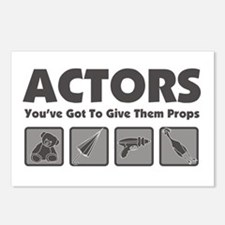 Props Postcards (Package of 8)