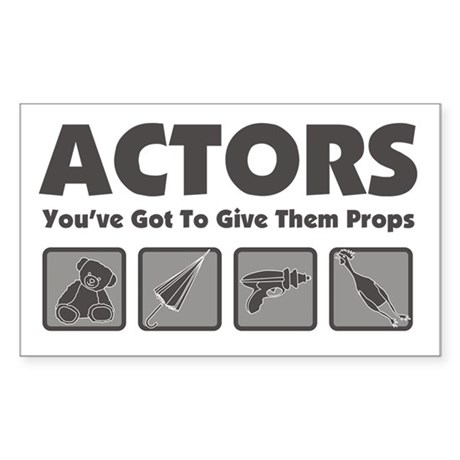 Props Sticker (Rectangle)