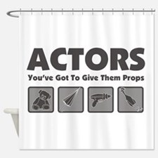 Props Shower Curtain
