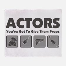 Props Throw Blanket