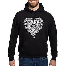 Ornate Gothic Heart Hoodie